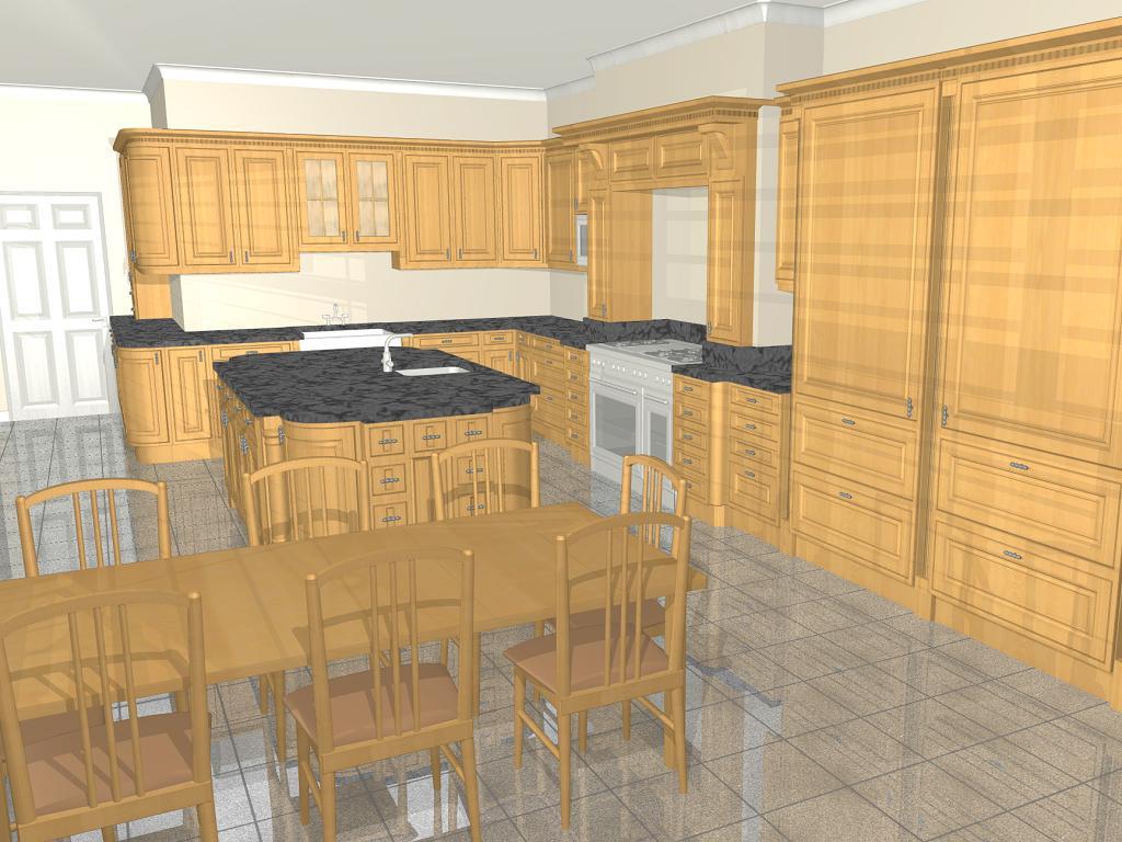 Kitchen designs with islands large kitchen island kitchen islands - Kitchen Gallery Image Glass Peninsula