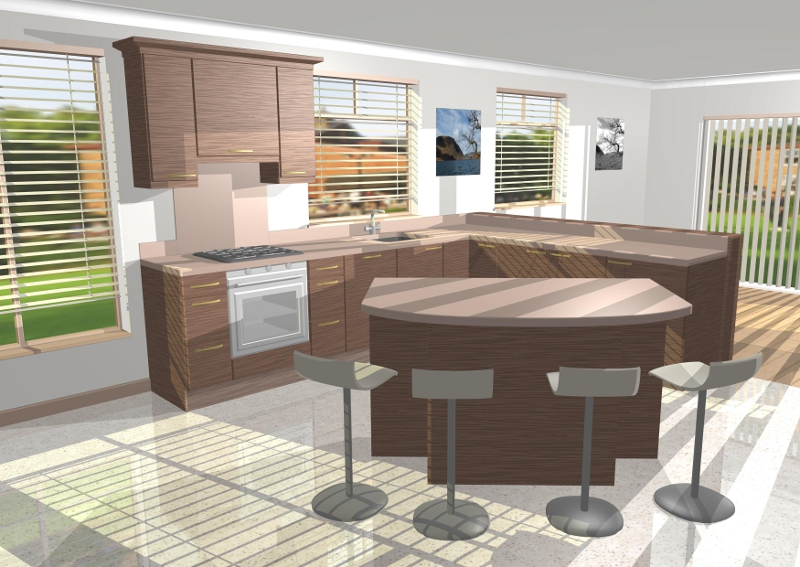 Kitchen Gallery Image - Modern 2 Colour